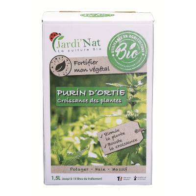 Purin d'ortie bag in box 1,5 L