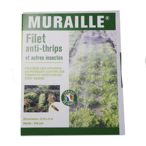 Filet anti-insectes du potager