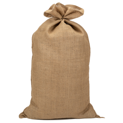 Sac en jute naturel contenance 35 kg