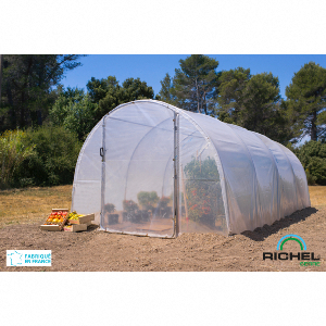 Serre tunnel de culture 18m² RICHEL