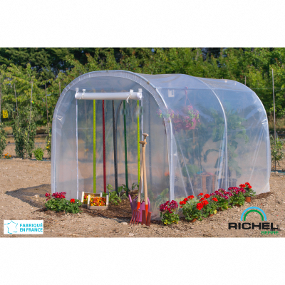 Serre tunnel de culture 6m² RICHEL
